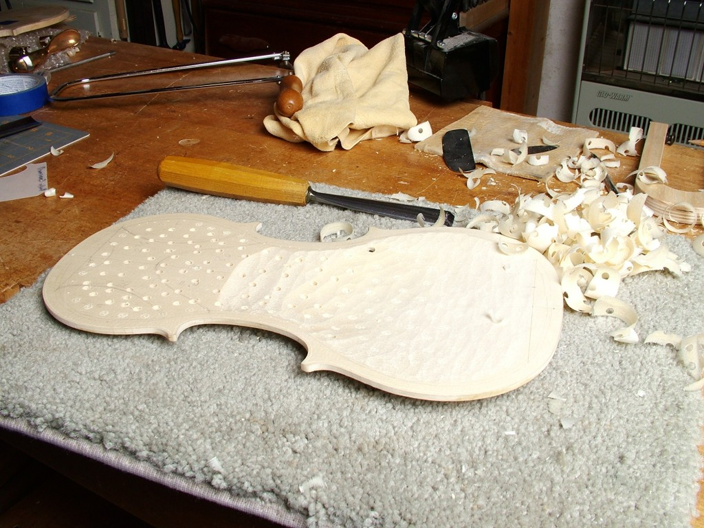 Carving Top Inside