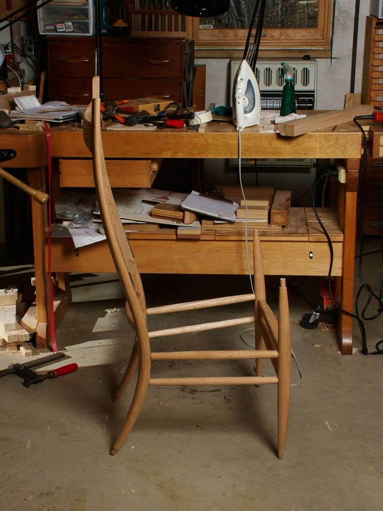 Glued up Chair