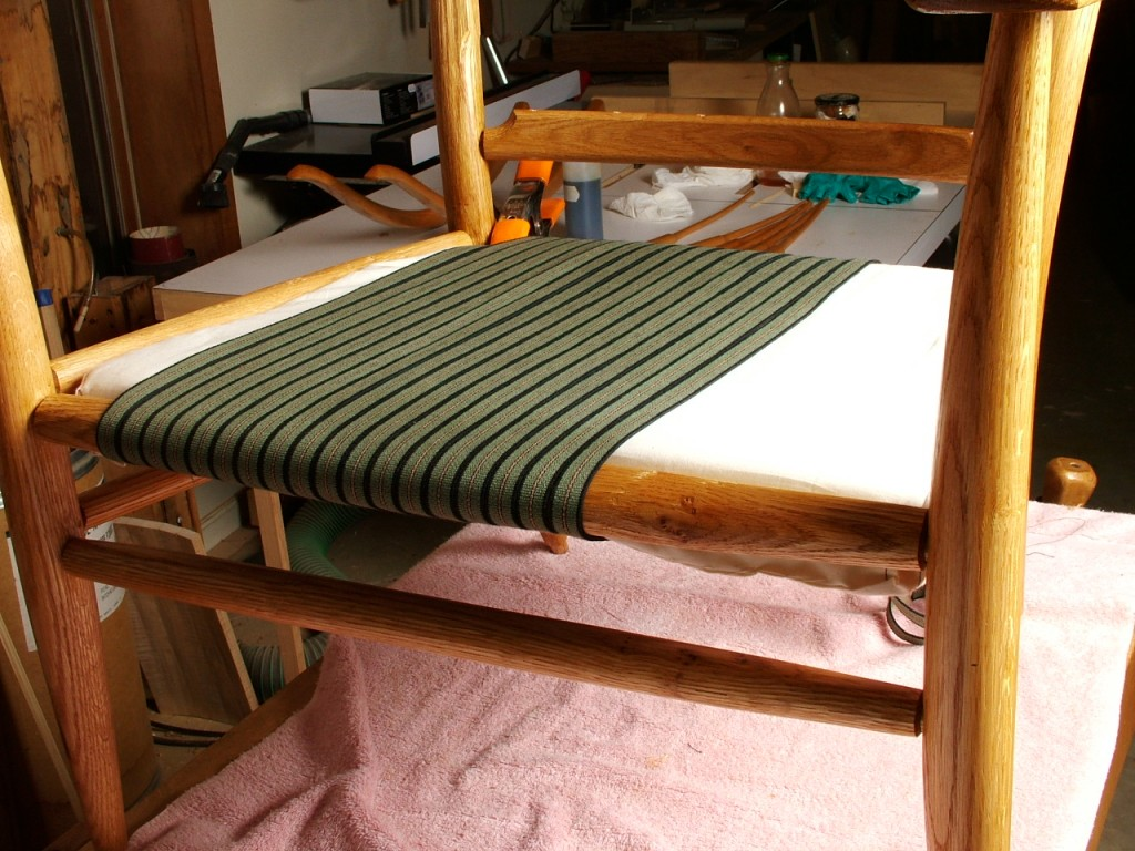 Beginning Warp with Cushion in Place