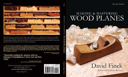 Book Cover - Making and Mastering Wood Planes